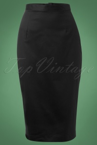 Bunny 10938 50s Frankie Skirt in Black 4