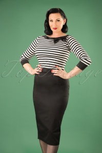 50s Frankie Skirt in Black