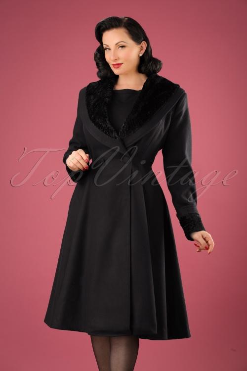 Bunny Vivien Coat Black  152 10 13450 20140709 0012W