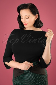 50s Addicted Sweater in Black