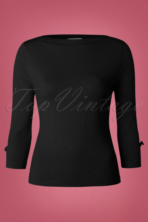 50s Addicted Sweater in Black