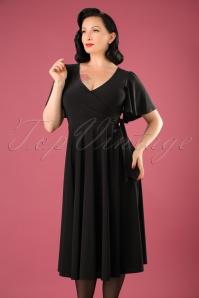Vintage Chic Slinky Fabric Dress 102 20 22578 20170807 0011W