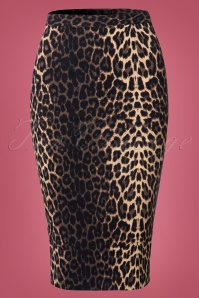 Bunny Panthera Leopard Pencil Skirt 120 58 22559 20170802 0002W