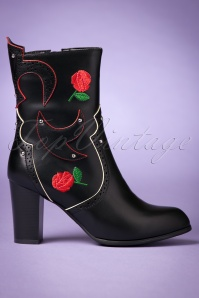 Dancing Days by Banned Wildheart Rose Boots 441 10 22450 20170908 0007w