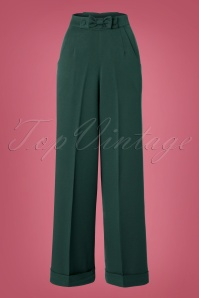 Dancing Days by Banned Hidden Away Teal Trousers 131 40 22280 20161011 0002W