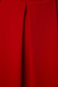 Vintage Chic Full Pleat Midi Red Skirt 122 20 22476 20170907 0004