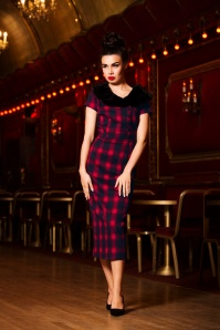 Vixen Joan Plaid Pencil Dress 100 27 22001 20170907 0002