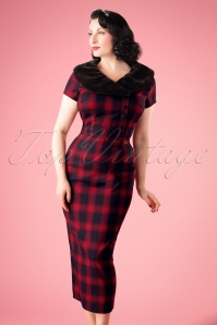 Vixen Joan Plaid Pencil Dress 100 27 22001 20170907 0001W
