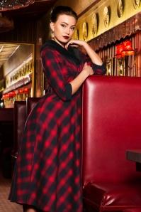Vixen Bettie Plaid Swing Dress 102 27 22000 20170907 08