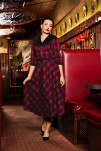 Vixen Bettie Plaid Swing Dress 102 27 22000 20170907 07