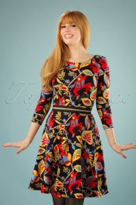 Traffic People Monkey Jungle Dress 102 14 21570 20170818 00010W