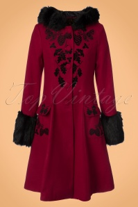 Bunny Sherwood Black Red Coat 152 20 22631 20170912 0002W
