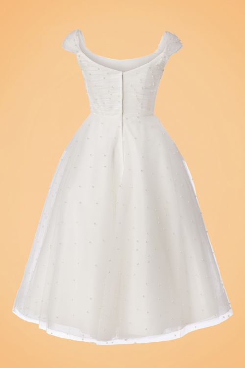fe83311f02c9 Vixen White Pearl Tulle Wedding Dress 102 50 22015 20170907 0008W. TV Maart  Shoot 20174313 bewerkt