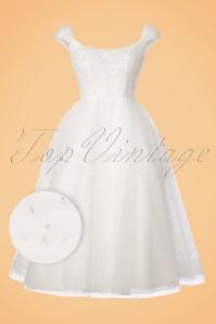 Vixen White Pearl Tulle Wedding Dress 102 50 22015 20170907 0003W1