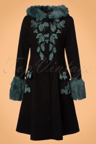 Bunny Sherwood Black Teal Coat 152 10 22630 20170912 0004W