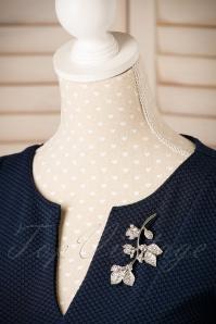 Darling Divine Floral silver Brooche 340 92 22206 21062017 004W