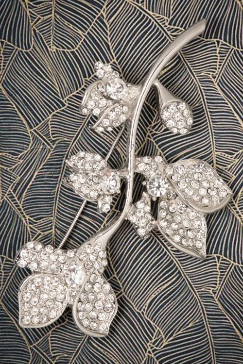 Darling Divine Floral silver Brooche 340 92 22206 21062017 001W