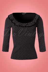 Bunny Eva Black Polkadot Top 111 14 22622 20170912 0002W
