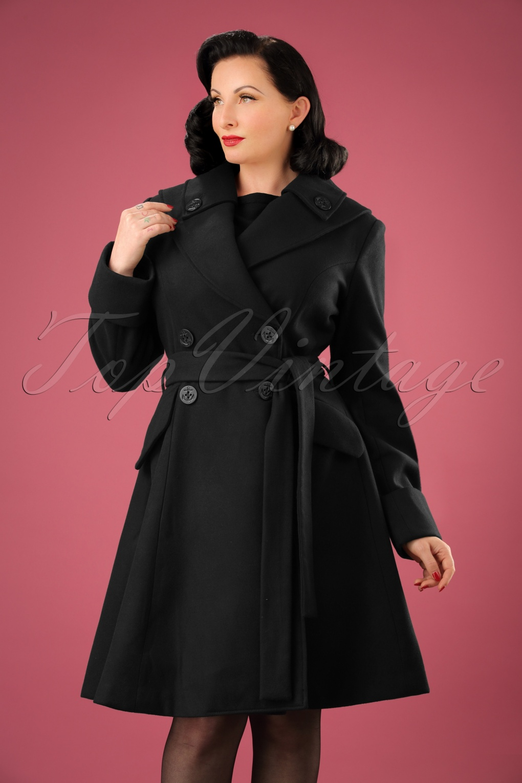 Retro Vintage Style Coats, Jackets, Fur Stoles