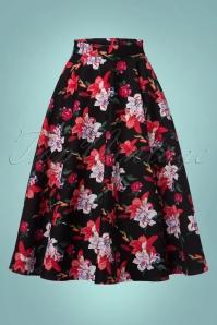 Bunny Liliana 50s Floral Skirt 122 14 22618 20170912 0008w