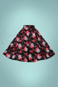Bunny Liliana 50s Floral Skirt 122 14 22618 20170912 0005w