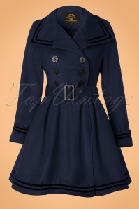 Bunny Millie Swing Coat Navy 152 31 11918 20130821 0005K