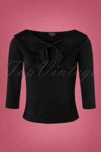 Steady Clothing Betsy 3 4 Sleeve Bow Top 113 20 22326 20170912 0003W