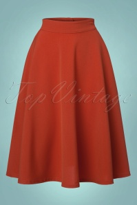 Steady Clothing High Trills Skirt in Rust 122 21 22901 20170912 0001w