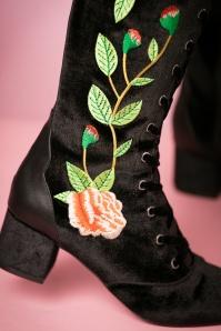 Miss L Fire Sacha Boots in Black 440 14 21260 13092017 037