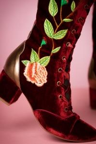 Miss L Fire Sacha Boots in Dark Rust 440 27 21261 13092017 020