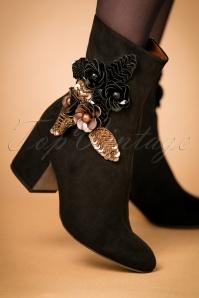 Tamaris Black Golden Boots 441 10 21946 model 13092017 005W