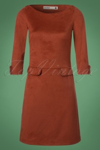Le Pep Pencil Dress in Rusty Red 100 21 21560 20170915 0002W