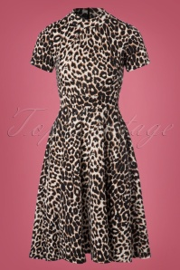 Vintage Chic Marcella Leopard Print Dress 102 58 22489 20170915 0001W