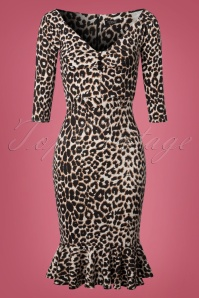 Vintage Chic Marcella Fabric Leopard Print 100 58 22503 20170913 0002W