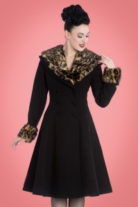 Bunny Feline Coat in Black 152 10 22632 20170918 0008