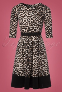 Vintage Chic Marcella Leopard Print Dress 102 58 22488 20170915 0001W