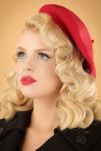 Darling Divine french hat red 202 20 22665 model02W