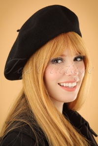 Darling Divine French hat black 202 10 22666 modelW