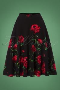 Vintage Chic Roses Swing Skirt 122 14 22517 20170918 0001w