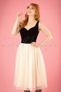 Collectif Clothing Isla Plain Swing Dress 21863 20170615 0011w