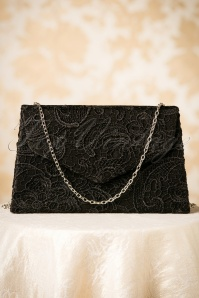 Darling Divine Black Evening Clutch 210 10 12255 18092017 011W