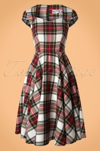 Bunny Aberdeen Tartan Swing Dress 102 59 16755 20151021 0007W