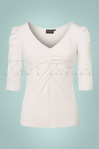 Vixen Von Teese Shirt in White 113 50 22032 20170821 0005w