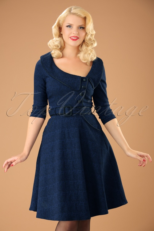Vixen Lilly Blue Swing Dress 102 30 19433 20161004 1w
