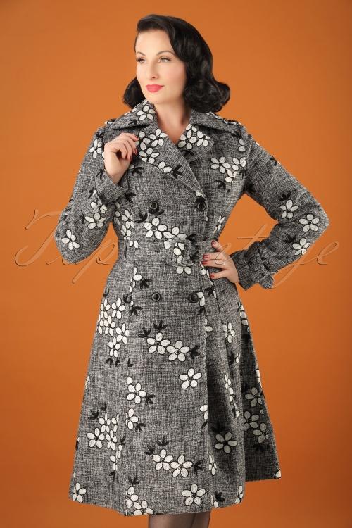 Vixen 60s Marjorie Grey Coat 152 19 22066 20170918 0005w