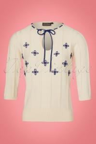 Vixen Holly White Floral Top 113 50 22051 20170918 0002W