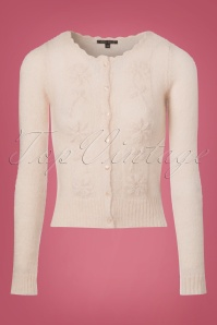 King Louie Wool Roundneck Cream Blouse 140 51 21340 20170920 0004w