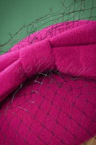 Banned Candice Hat in Magenta 201 22 22224 02W