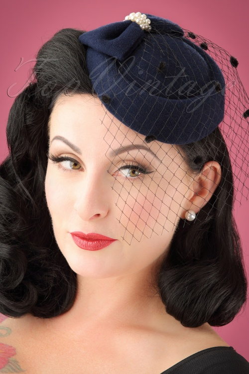 Banned Judy Hat in navy 201 31 22219 01W