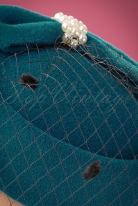 Banned Judy Hat in Teal 201 30 22222 02W